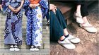 น่ารักกรุบ! รองเท้าผ้าใบเกี๊ยะ แฟชั่นจากประเพณีดั้งเดิมของญี่ปุ่น
