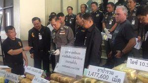 ตร.แถลงจับแก๊งขนโคเคนรัสเซีย เผยมีผู้ว่าจ้างในไทย