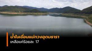 น้ำในเขื่อนแม่กวงอุดมธาราเหลือน้อย ขอประชาชนใช้น้ำประหยัด