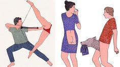 กระแทกต่อม! ภาพวาดอีโรติคอาร์ทสุดคัลท์ของศิลปินสาว Marion Fayolle