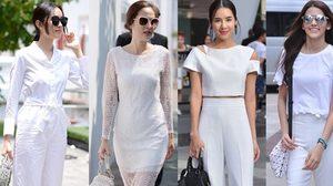 รวม แฟชั่นชุดสีขาว กับ 10 ดาราสาว สวยเนี๊ยบสไตล์มินิมอล!!!