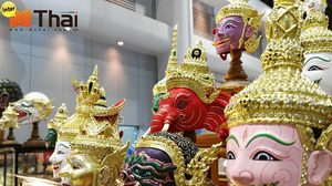 Learning Thai : Hua khon – Masks of Khon : What's on the face?