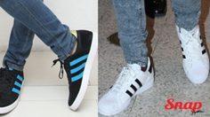 ไอเทมคู่ใจ รองเท้าผ้าใบ Adidas ใส่กับอะไรก็หล่อ!!!