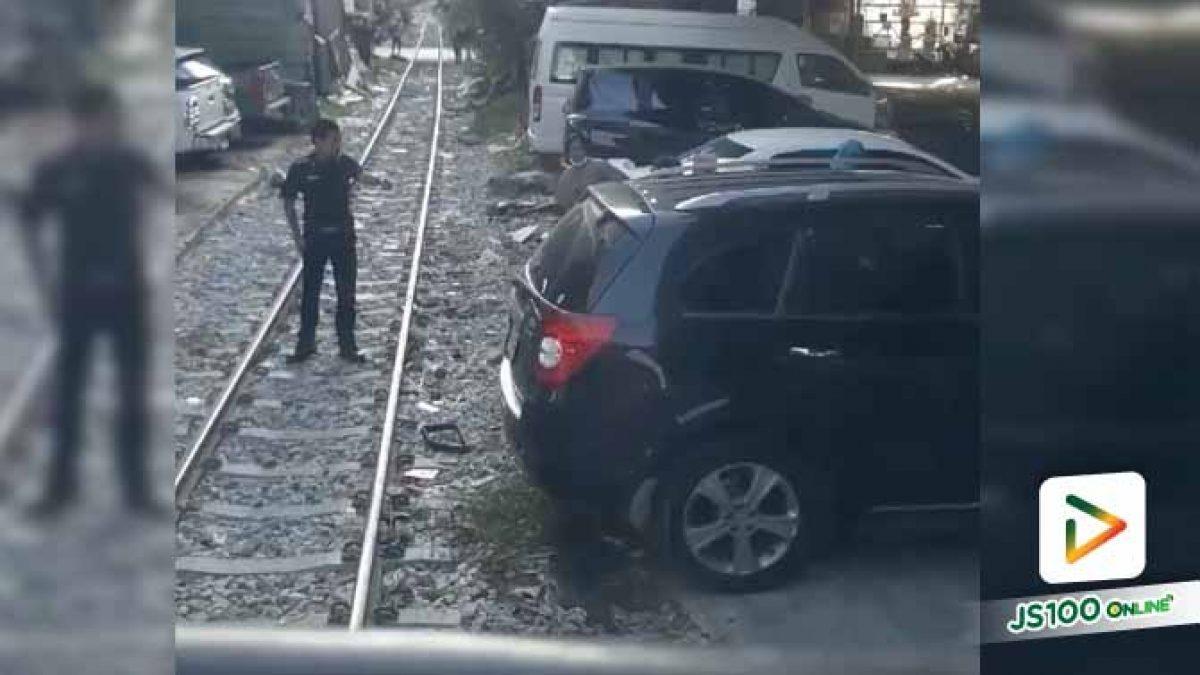ประธานชุมชนชี้แจงกรณีรถเก๋งจอดขวางทางรถไฟ
