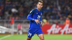 สรรวัชญ์ ขอบคุณแฟน ทีมชาติไทย ฝ่าด่านรถติดมาชมเกม ซูซูกิ คัพ กันแน่นสนาม