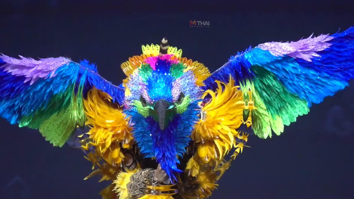 ชุดประจำชาติ มิสยูนิเวิร์สบราซิล พรีเซ็นต์ดี จังหวะเป๊ะ ในชุดเทพีกลายร่างเป็นนก