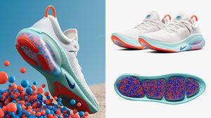 Nike Joyride Run Flyknit รองเท้าวิ่ง พร้อมพื้นเทคโนโลยีใหม่ เม็ดโฟม ลดแรงกระแทก
