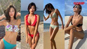 เจ้าหญิงแห่งวงการชุดว่ายน้ำ 15 ช็อตแซ่บ ยิปซี คีรติ หุ่นนี้ได้แต่ใดมา