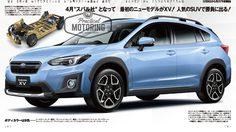หลุด Subaru XV 2018 ตัวปรับโฉมใหม่จาก Magazine ญี่ปุ่น