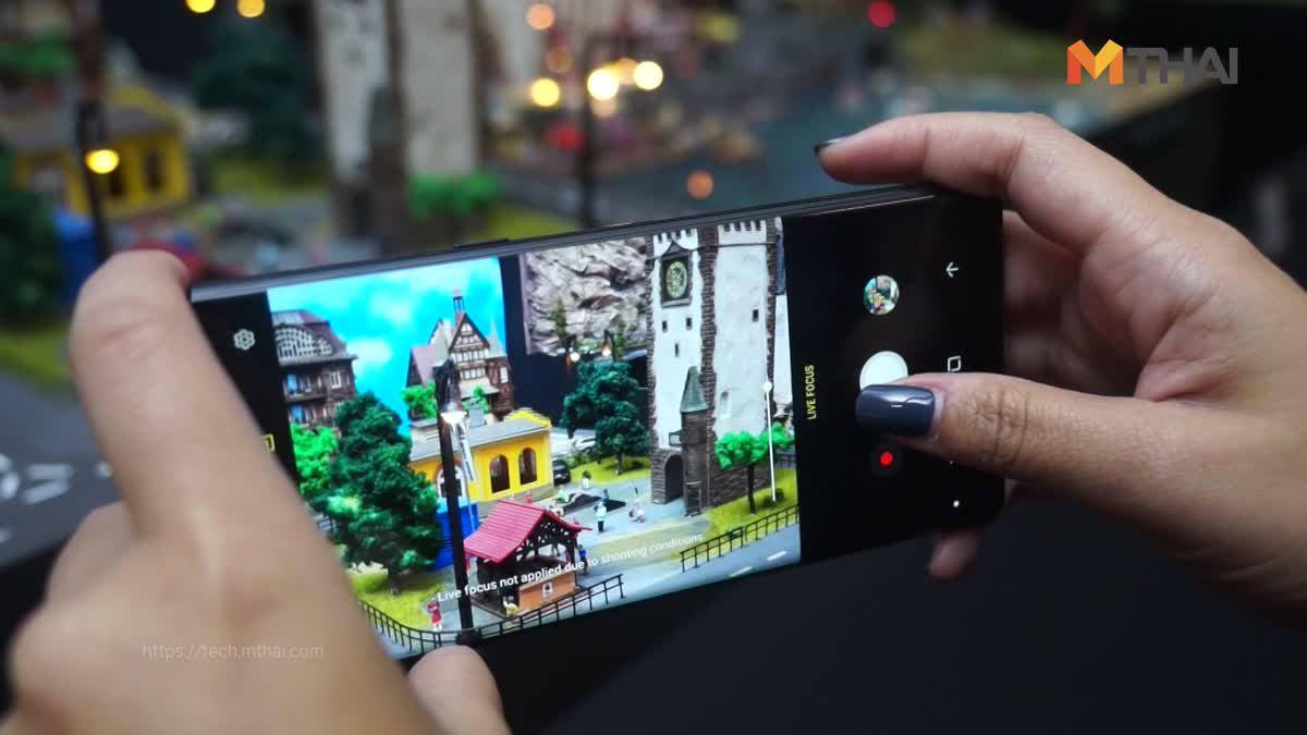 พรีวิว Samsung Galaxy Note 8 ตัวเครื่องเป็นๆ จอยาวเต็มเครื่องพร้อมกล้องคู่กันสั่น