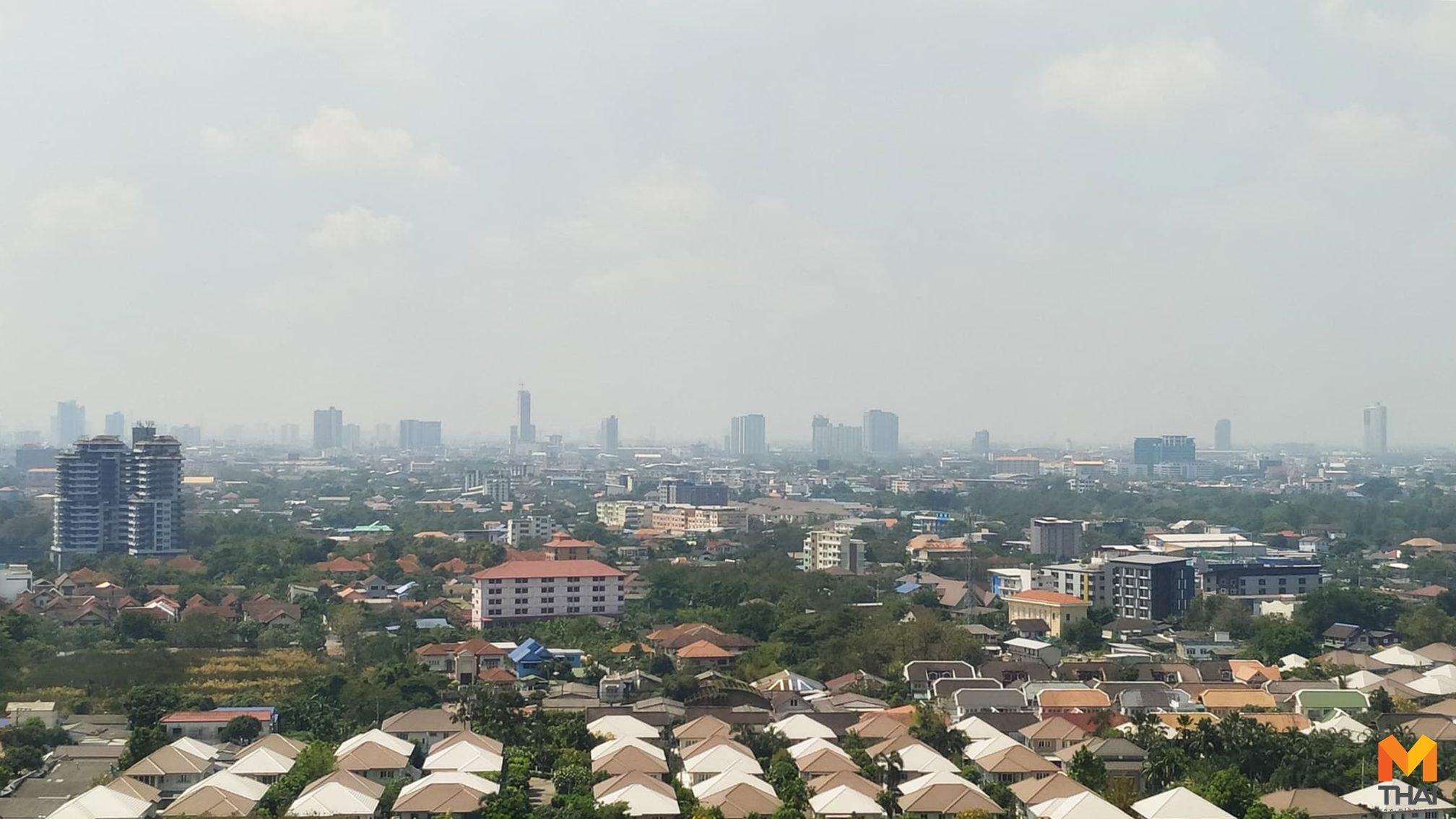 PM 2.5 เกินมาตรฐาน 9 จุด เหตุลมมีกำลังอ่อนตัวฝุ่นสะสม