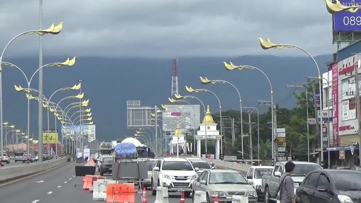 เปิดใช้แล้ว!! ทางลอดฟ้าฮ่าม อุโมงค์ทางลอดที่สวยที่สุดในประเทศไทย