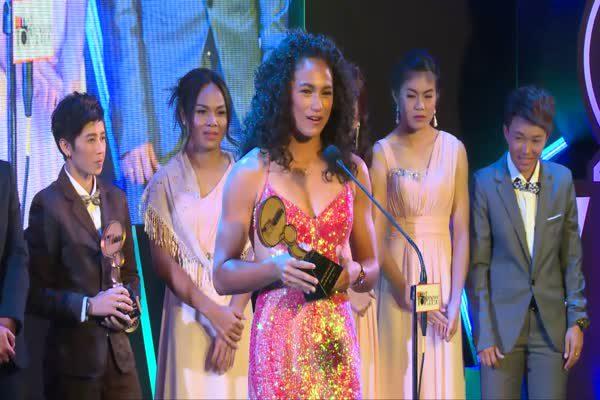 ประกาศรางวัล The Most Top Talk-About Sportswoman 2015