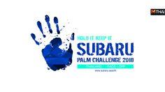 TC Subaru เชิญร่วมพิสูจน์กับกิจกรรม Subaru Thailand Palm Challenge 2018