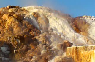 บ่อน้ำพุร้อนแมมมอธ หม้อต้มน้ำยักษ์แห่งเยลโลว์ สโตน