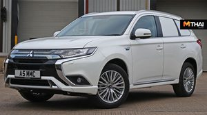 Mitsubishi Outlander Commercial SUV รถเพื่อการพาณิชย์ กับขุมพลัง ปลั๊กอินไฮบริด