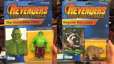 หุ่นฟิกเกอร์ Avengers เห็นตลก ๆ แบบนี้ขายดีเกือบหมดสต็อกนะครับ