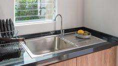 วิธีเลือก อ่างล้างจานสแตนเลส ในครัวให้ใช้งานได้อย่างยาวนาน