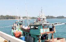 จับเรือเวียดนามลักลอบทำประมงในเขตไทย