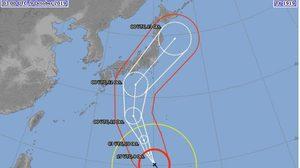 สถานทูตไทย ณ กรุงโตเกียว เตือนระวัง ไต้ฝุ่น 'ฮากิบิส' จ่อขึ้นฝั่งญี่ปุ่น 12-13 ต.ค.นี้