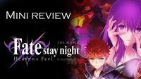รีวิว Fate/Stay Night Heaven's Feel II - Lost Butterfly