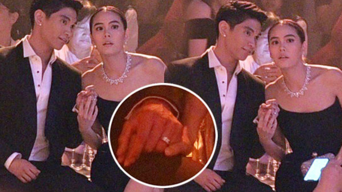 ซูมดูแหวนที่นิ้ว! เจนี่-มิกกี้ กุมมือควงคู่ออกงานหวานไปอิ๊กก