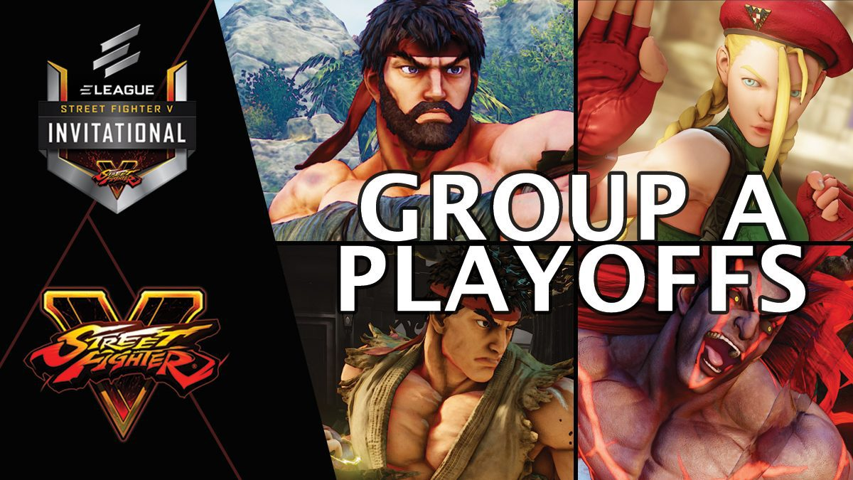การแข่งขัน Street Fighter V Invitational 2018 | Group A [1/2]