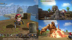 เผยภาพบอสและอาวุธใน Dragon Quest Builders