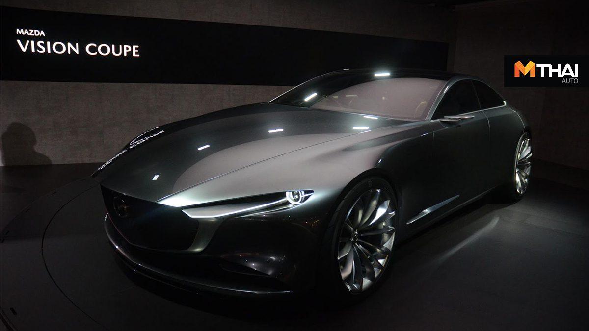 Mazda กำลังพัฒนาเครื่องยนต์ Skyactiv-X หกสูบเรียง ทั้งเบนซินเเละดีเซล