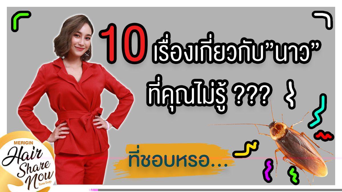 10 เรื่องเกี่ยวกับ นาว ทิสานาฏ ที่คุณไม่รู้???