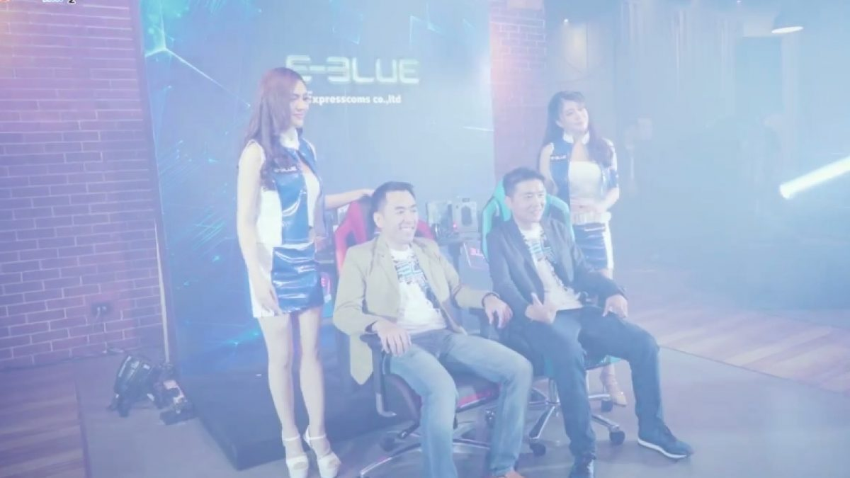 E-Blue Gaming Grand Opening in Thailand