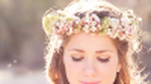 เจ้าสาว วินเทจ กับ มงกุฎดอกไม้ สวยคลาสสิค สบายตา