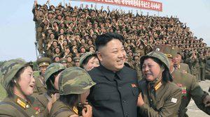 คิม จอง อึน เรารักท่านเท่าป่ารักน้ำ ฟ้ารักดาว We're salute you