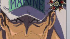 จอมพล ซากาซุกิ อาคาอินุ  มนุษย์แม็กม่า จาก Onepiece