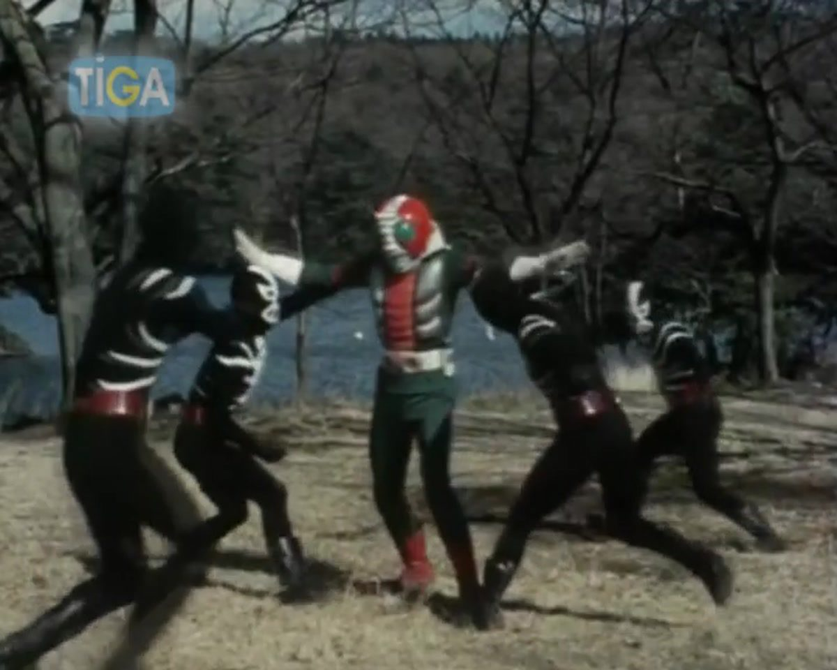 Masked Rider V3 ตอนที่ 4-3