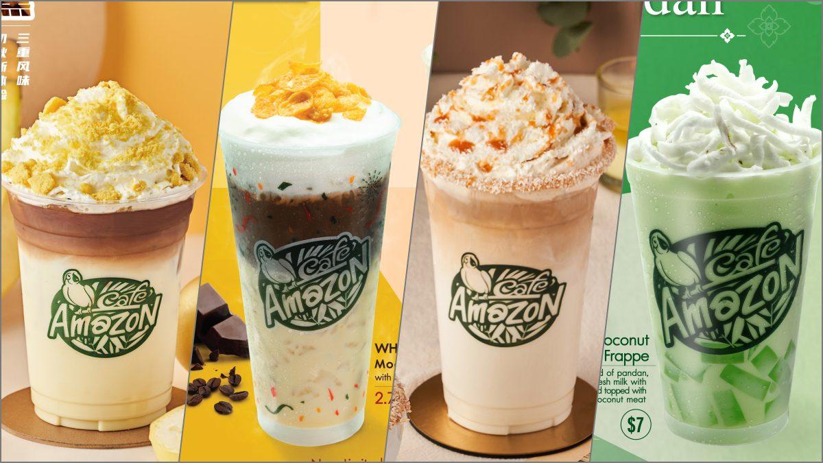 แอบส่องเมนูน่าชิมในร้าน Cafe Amazon สาขาต่างประเทศ ที่ไม่มีขายในไทย