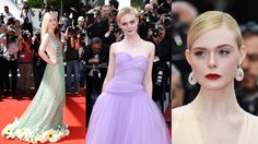 พัฒนาการความสวย! รวมลุค Elle Fanning จากเจ้าหญิงสู่ราชินี พรมแดงคานส์!!