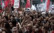 ชุมนุมต่อต้านผู้นำบราซิลคนใหม่