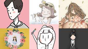 รวมเพจนักวาดการ์ตูนน่ารักๆ ของไทย