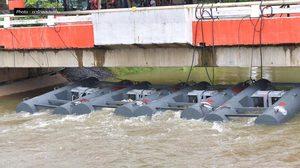 ระดับน้ำที่ 'ปักธงชัย' เริ่มลดลงต่อเนื่อง เร่งระบายน้ำลงแม่น้ำมูล
