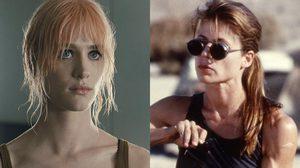 แม็กเคนซี เดวิส เจรจารับบท ซาราห์ คอนเนอร์ ใน Terminator ภาครีบูตของ Jame Cameron