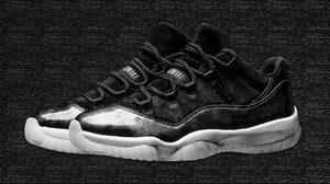 """ดูกันชัดๆ Nike Air Jordan 11 Low """"Baron"""" พร้อมวางจำหน่าย 27 พฤษภาคมนี้"""