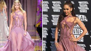 ขุ่นแม่มาแล้ว!! ชมพู่ อารยา แต่งหน้าแซ่บมาก ในชุดเดรสซีทรู Atelier Versace