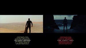 ชวนเข้าใจผิด!!? เทียบช็อตต่อช็อต คลิปตัวอย่าง Star Wars ภาคก่อนหน้าและล่าสุด