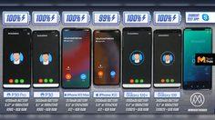 วัดความอึดแบตเตอรี่ Huawei P30 และ P30 Pro กับเรือธง Samsung และ Apple