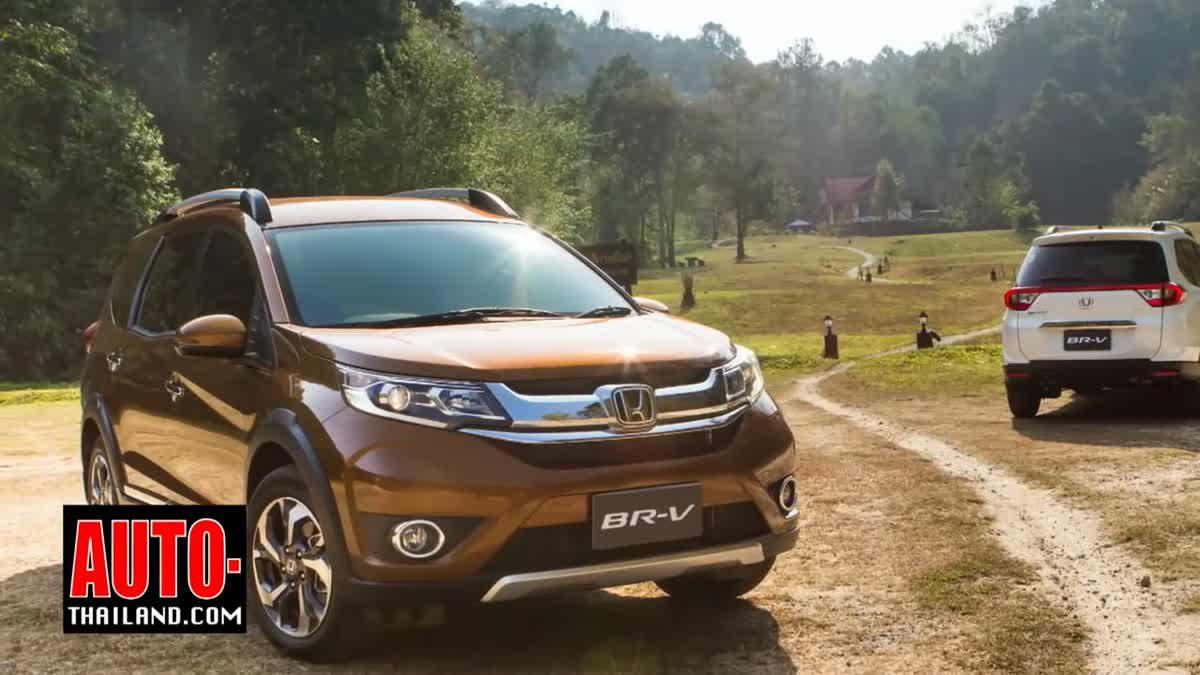 Testdrive Honda BR-V 2016 @Chiangmai