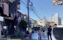 """ชาวญี่ปุ่นเริ่มทำความสะอาด หลัง """"ฮากิบิส"""" พัดถล่ม"""