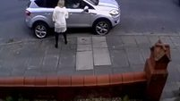 Toddler hit and dragged down pavement by cyclist