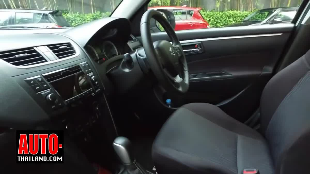 ทดลองขับ Suzuki Swift RX-ll เพิ่มออฟชั่นในราคาเดิม !!!