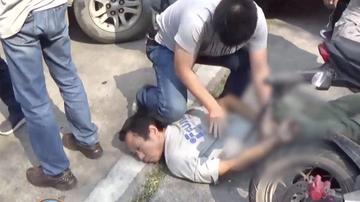 ชาร์จจับกุมพ่อค้ายาบ้า